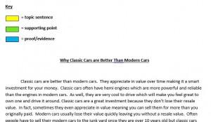 14.09.30 classic cars essay paragraph correct assignment