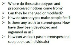 stereotype quetions 1