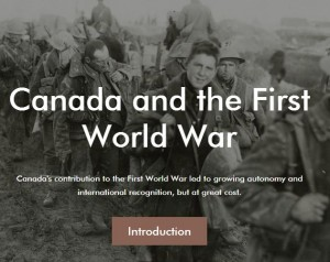canada world war 1 introduction